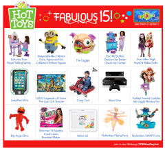 ToysRUs Hot Toy List 2013